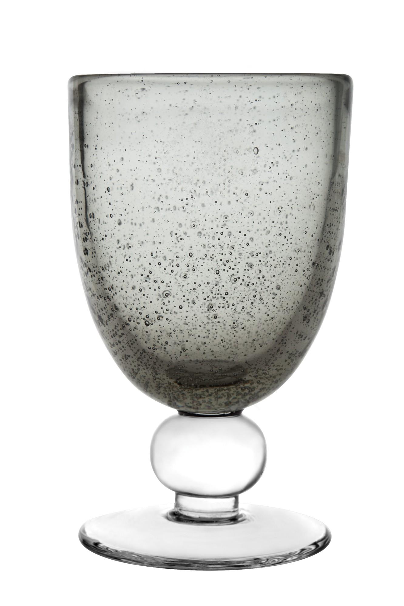 Ποτήρι Κρασιού Anise Smoke Σετ 6Τμχ 260ml Ionia home   ειδη σερβιρισματος   ποτήρια