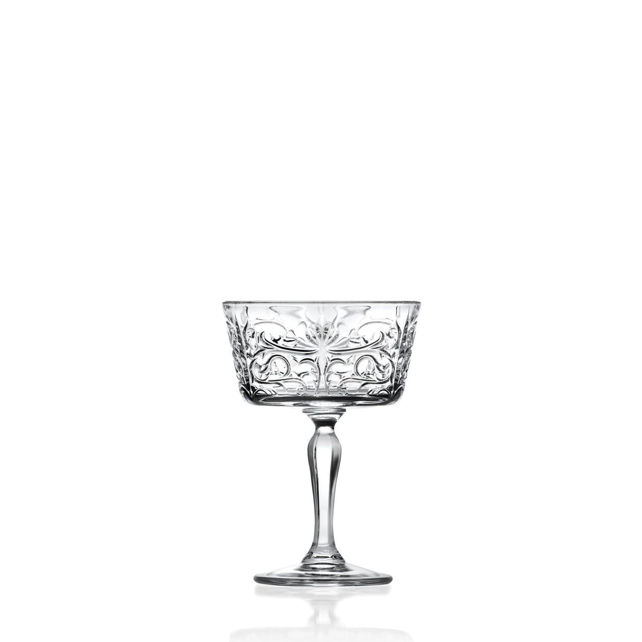 Ποτήρι Κοκτέιλ Κρυστάλλινο Tattoo 268ml Τμχ Rcr home   ειδη σερβιρισματος   ποτήρια   cocktail   ειδικά ποτήρια