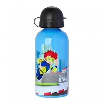 Μπουκάλι Eco Life Μεταλλικό Ανοξείδωτο Syper Boy 500ml