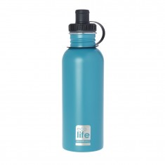 Παγούρι Eco Life Μεταλλικό Ανοξείδωτο Aqua 600ml