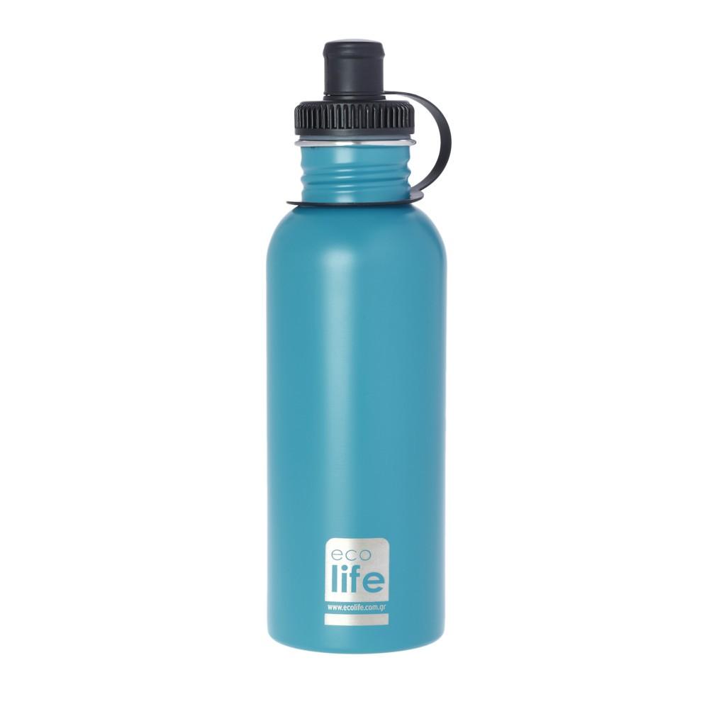 Παγούρι Eco Life Μεταλλικό Ανοξείδωτο Aqua 600ml home   αξεσουαρ κουζινας   παγούρια   θερμός