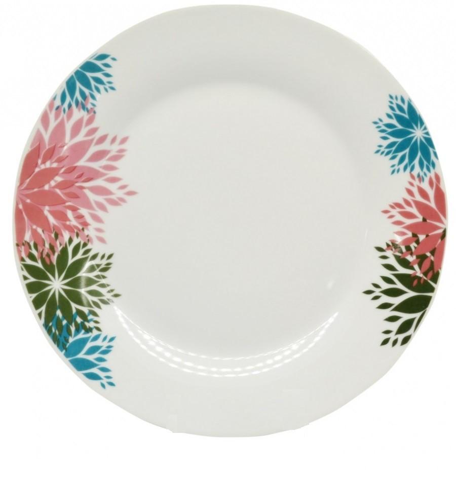 Σερβίτσιο Φαγητού Λουλούδια 18 Τεμαχίων Στρογγυλό home   ειδη σερβιρισματος   πιάτα   σερβίτσια