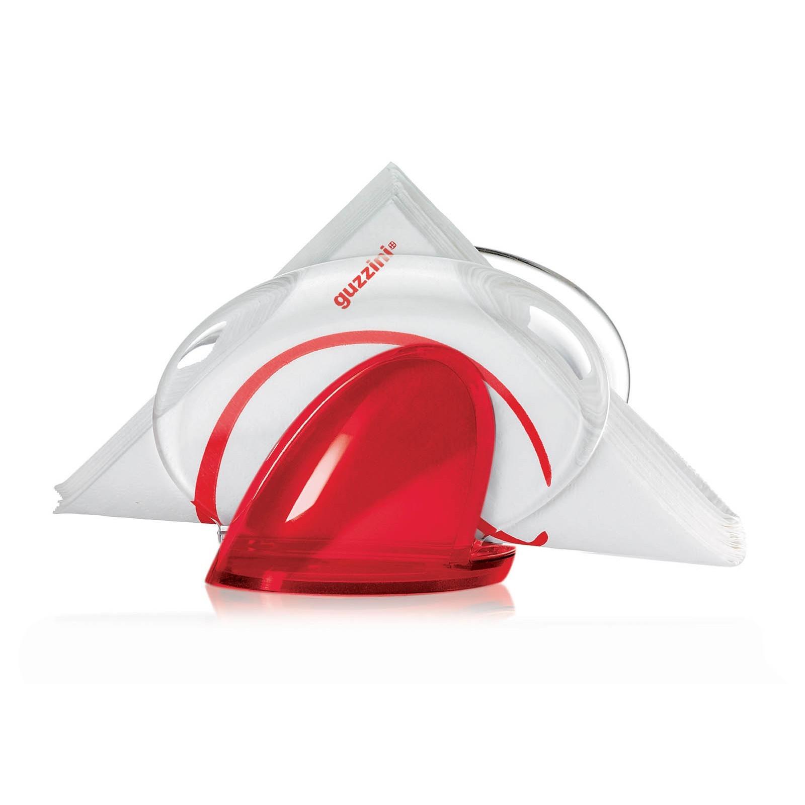 Χαρτοπετσετοθήκη Κόκκινη Feeling Guzzini home   αξεσουαρ κουζινας   χαρτοπετσετοθήκες