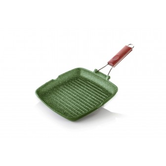 Γκριλιέρα Dr. Green Χυτού Αλουμινίου 26cm Risoli