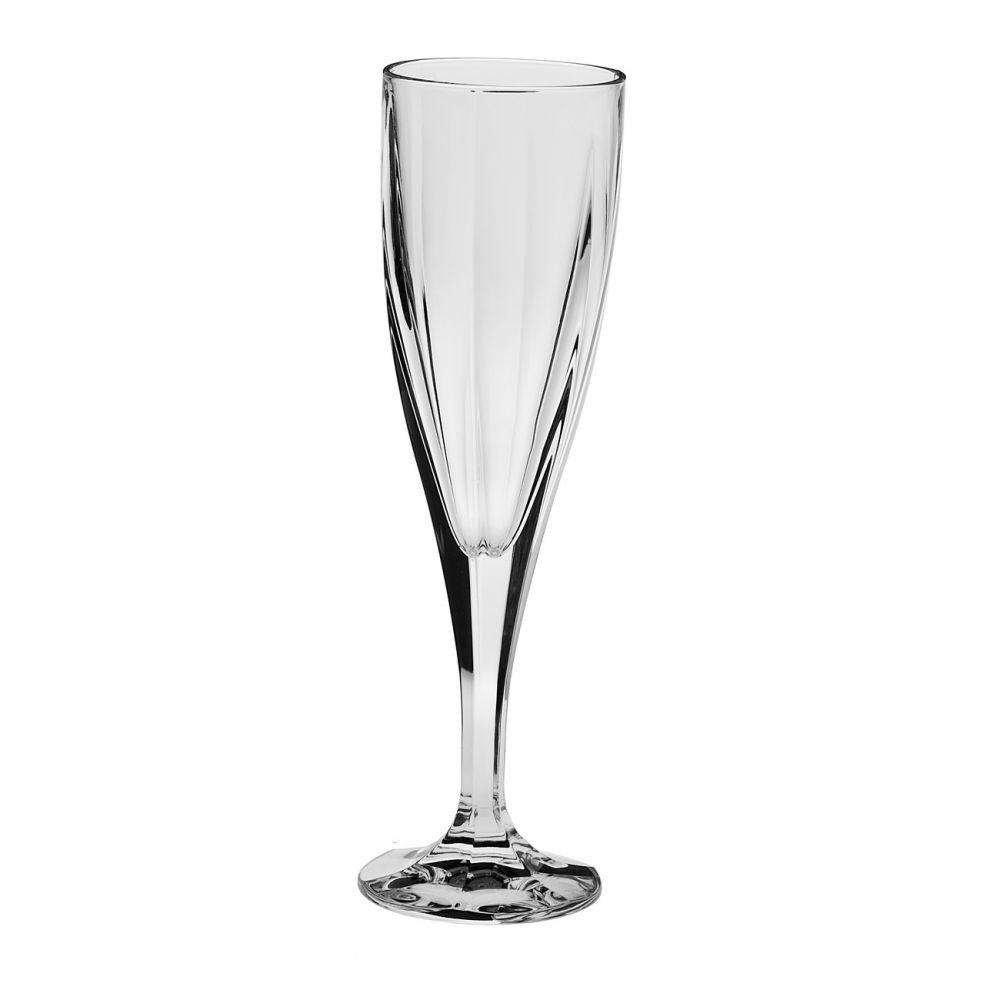 Ποτήρι Σαμπάνιας Κρυστάλλινο Bohemia 180ml Σετ 6 Τμχ Victoria home   ειδη σερβιρισματος   ποτήρια   kρυστάλλινα