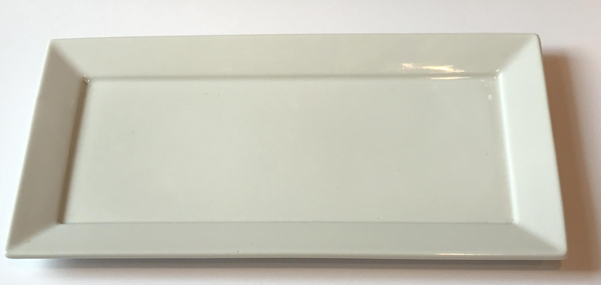 Πιατέλα Πορσελάνης Ορθογώνια Λευκή 30cm home   ειδη σερβιρισματος   πιατέλες