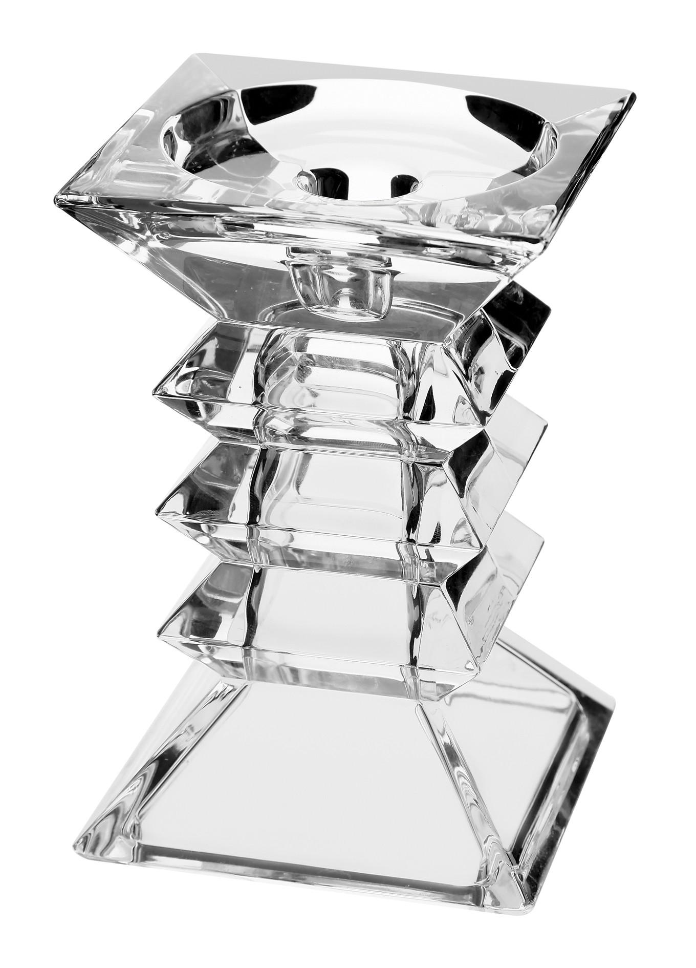 Κηροπήγειο Pagoda Κρυστάλλινο Bohemia 15cm home   κρυσταλλα  διακοσμηση   κρύσταλλα