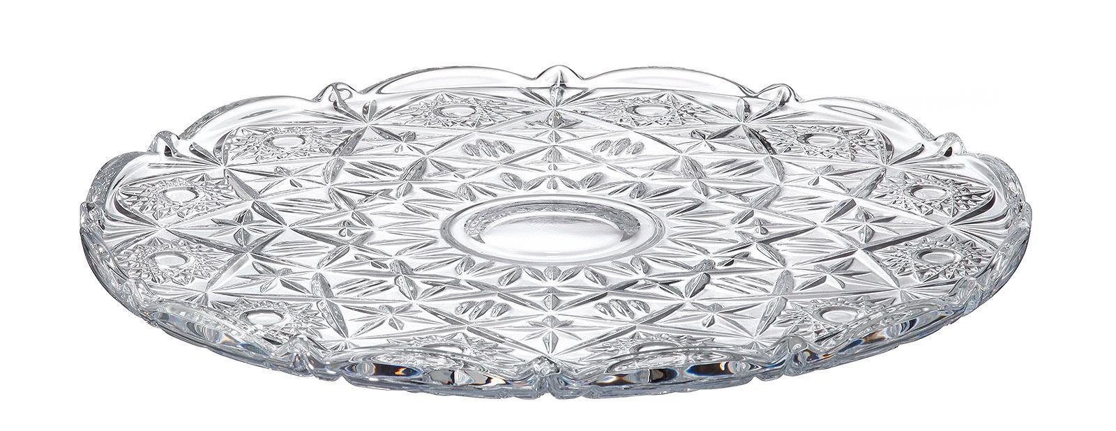 Πιατέλα Miranda Bohemia Κρυστάλλινο 31cm home   κρυσταλλα  διακοσμηση   κρύσταλλα
