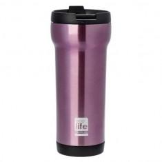 Θερμός Ποτήρι Eco Life Ανοξείδωτο Mug Pink 420ml
