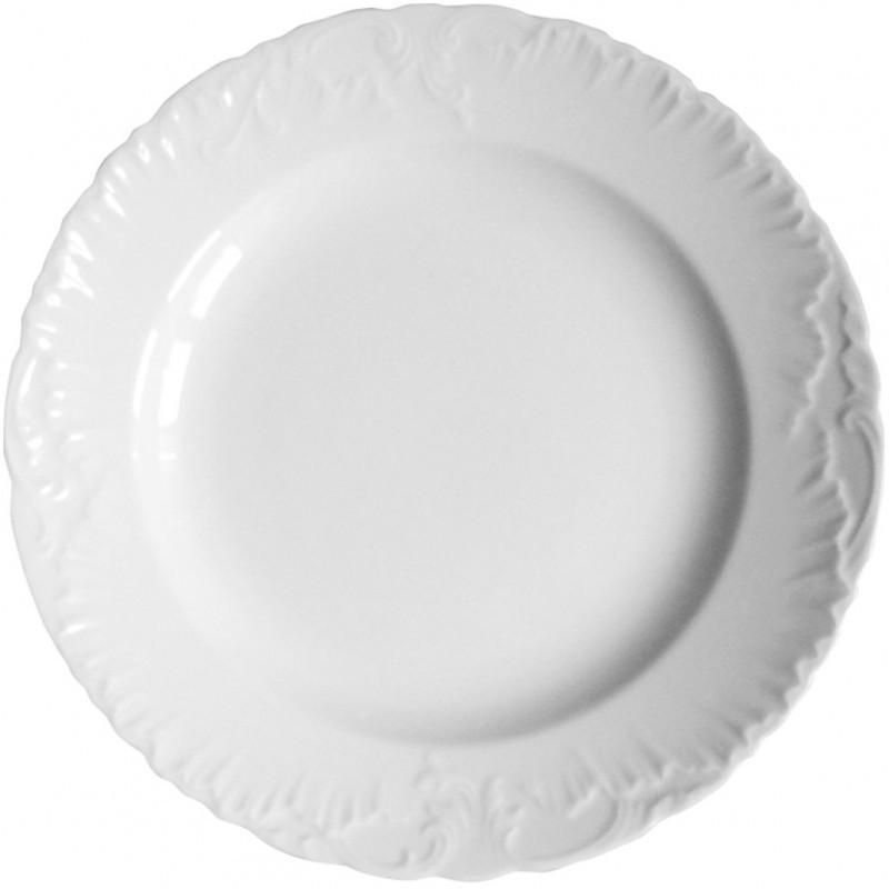 Πιάτο Ρηχό Πορσελάνης Rococo 26cm Hausmann