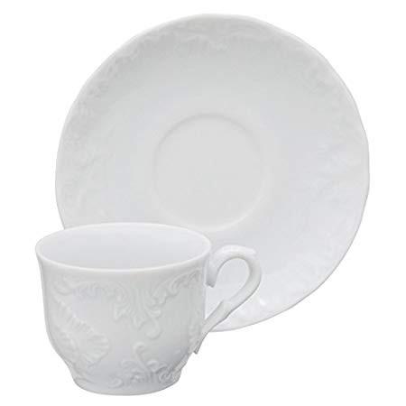 Φλυτζάνι & Πιάτο Καφέ Rococo Σετ 6τμχ Housmann home   ειδη cafe τσαϊ   κούπες   φλυτζάνια