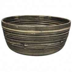 Μπολ Bamboo Natural Black 20cm