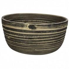 Μπολ Bamboo Natural Black 25cm
