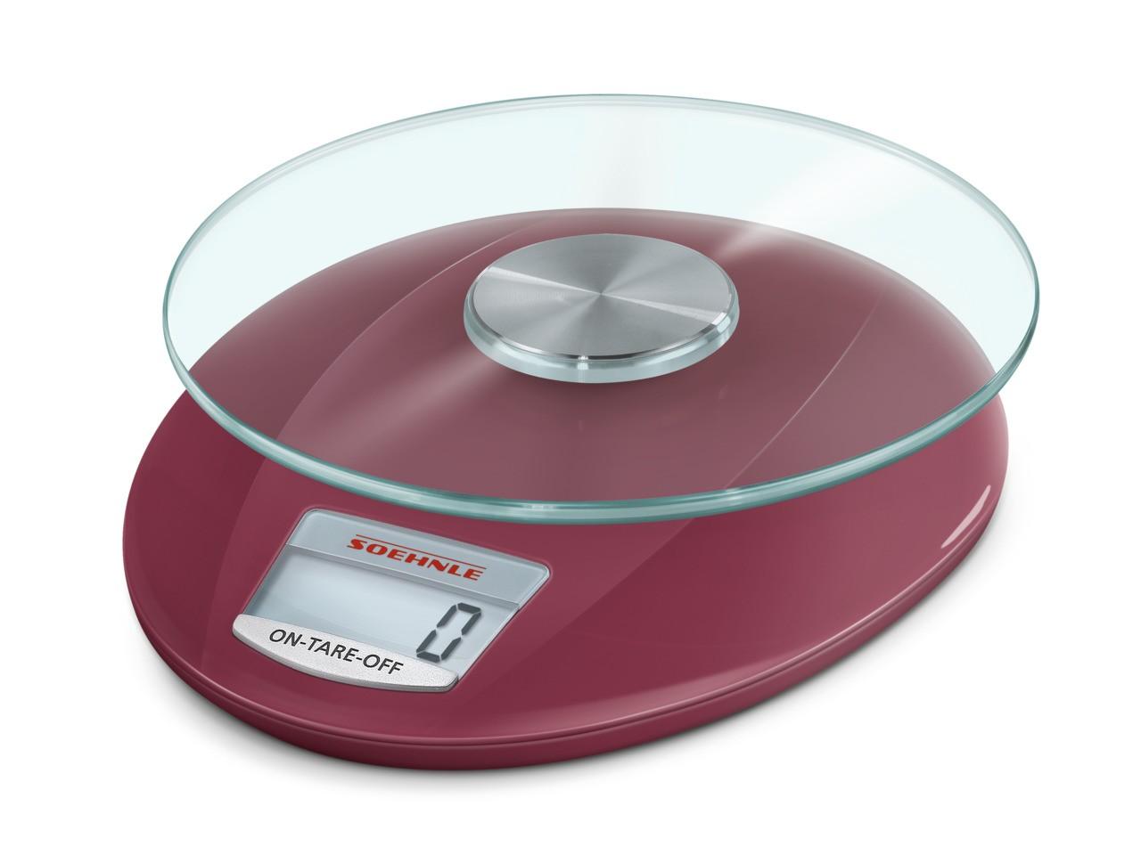 Ζυγαριά Κουζίνας Ψηφιακή 5kg Soehnle Roma Ruby Red home   εργαλεια κουζινας   ζυγαριές