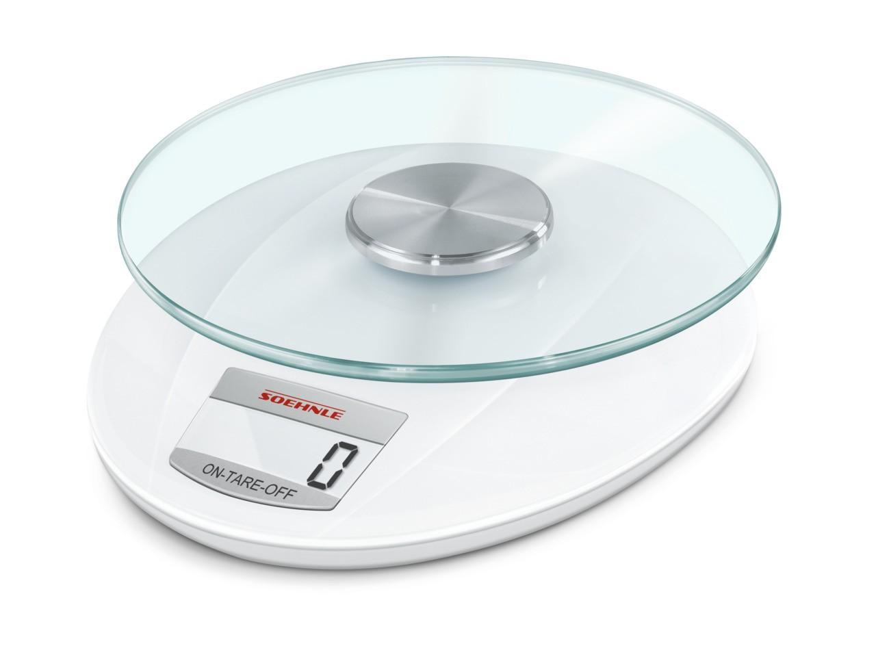 Ζυγαριά Κουζίνας Ψηφιακή 5kg Soehnle Roma White home   εργαλεια κουζινας   ζυγαριές