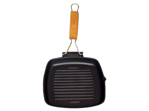 Γκριλιέρα Gratella Χυτού Αλουμινίου 20cm Risoli home   σκευη μαγειρικης   γκριλιέρες