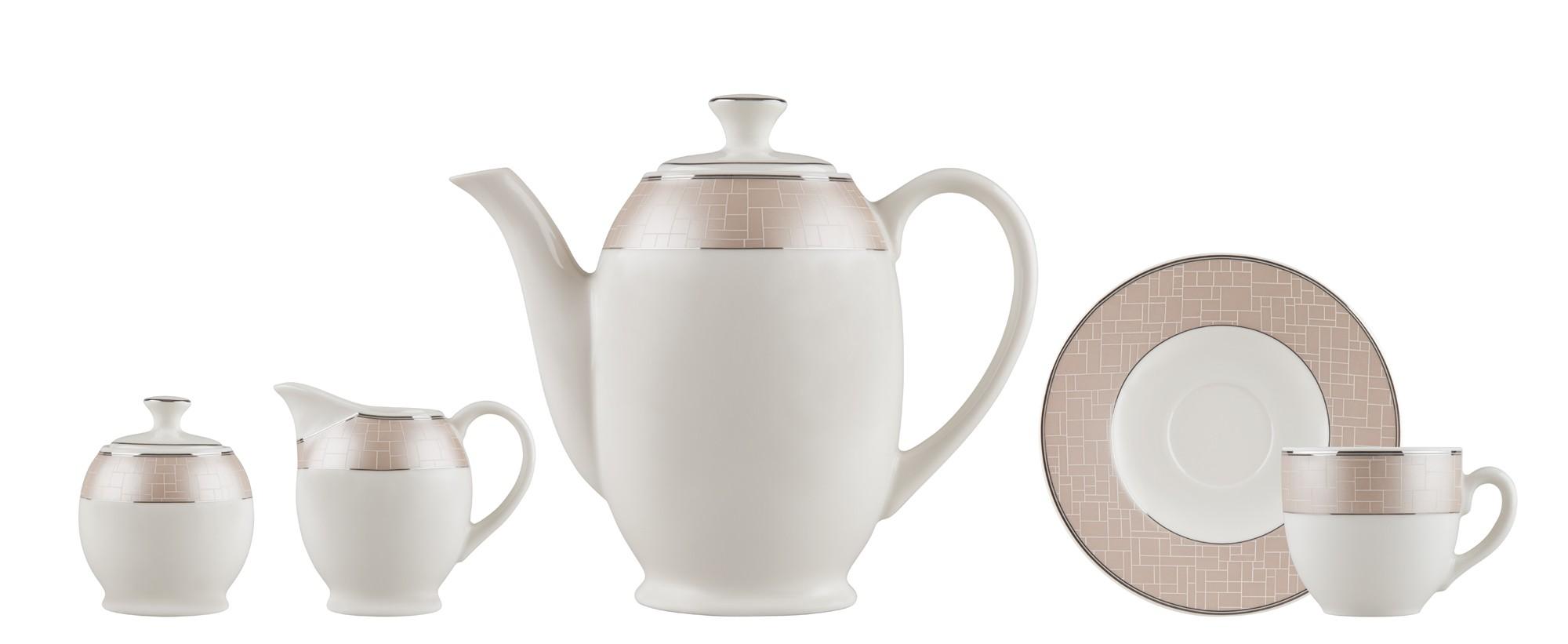 Σετ Τσαγιού Nymphes 9τμχ. Ionia home   ειδη cafe τσαϊ   κούπες   φλυτζάνια