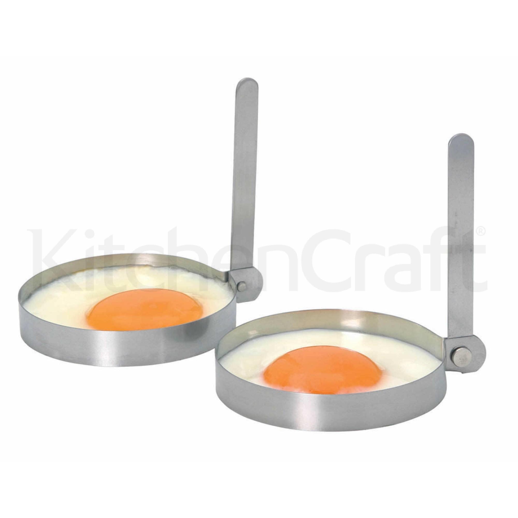 Τσέρκι Για Αυγά Τηγανιτά Σετ 2τμχ Kitchencraft home   εργαλεια κουζινας   έξυπνα εργαλεία