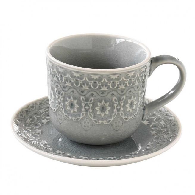 Φλιτζάνι Τσαγιού Stoneware Ambiente Grey 250ml