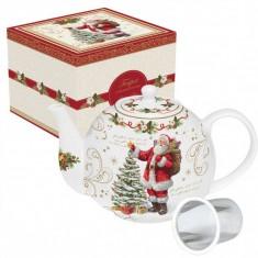 Τσαγιέρα Πορσελάνης Magic Christmas 1lt
