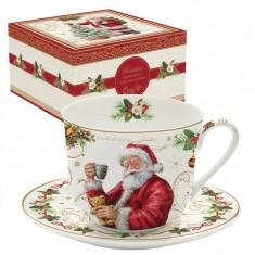 Φλιτζάνι Πρωινού Πορσελάνης Magic Christmas 400ml R2S