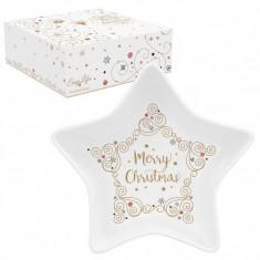 Μπωλ Πορσελάνης Merry Christmas Star 15cm