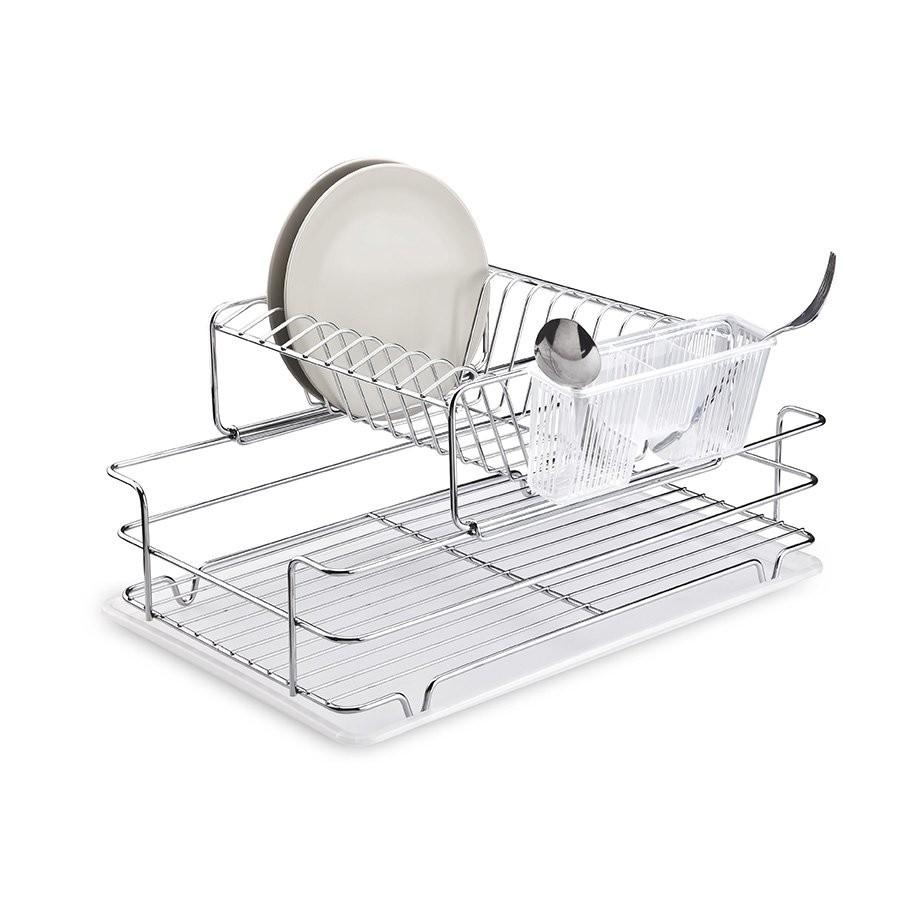 Πιατοθήκη Διώροφη Συρόμενη Ανοξείδωτη 18/10 Tekno-Tel home   αξεσουαρ κουζινας   πιατοθήκες   στεγνωτήρες