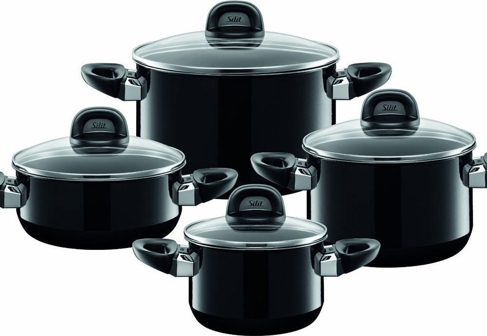 Σετ Μαγειρικά Σκεύη Modesto 8Τμχ Silit home   σκευη μαγειρικης   κατσαρόλες χύτρες