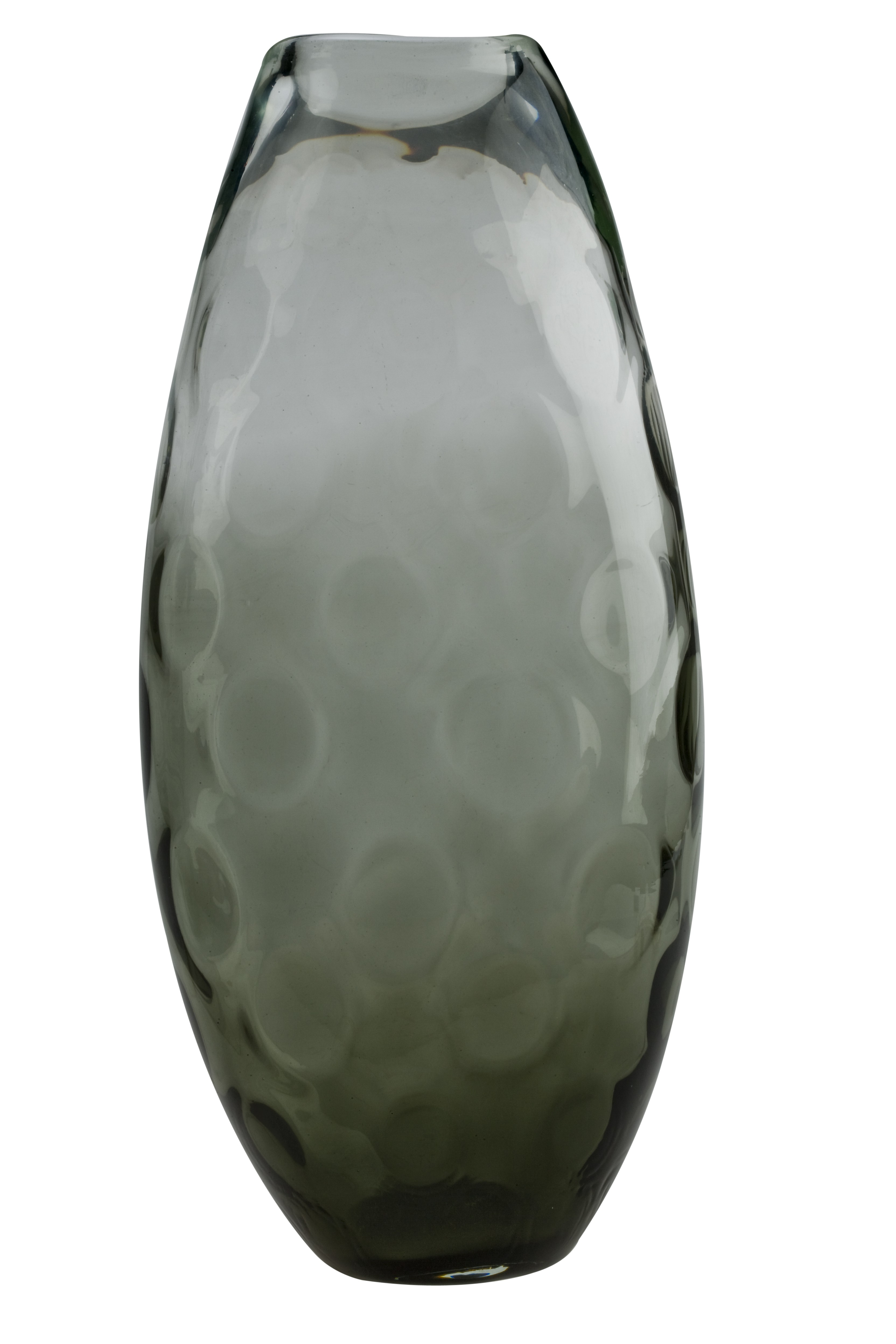 Ανθοδοχείο Smokey Φυσητό 42cm home   κρυσταλλα  διακοσμηση   κρύσταλλα