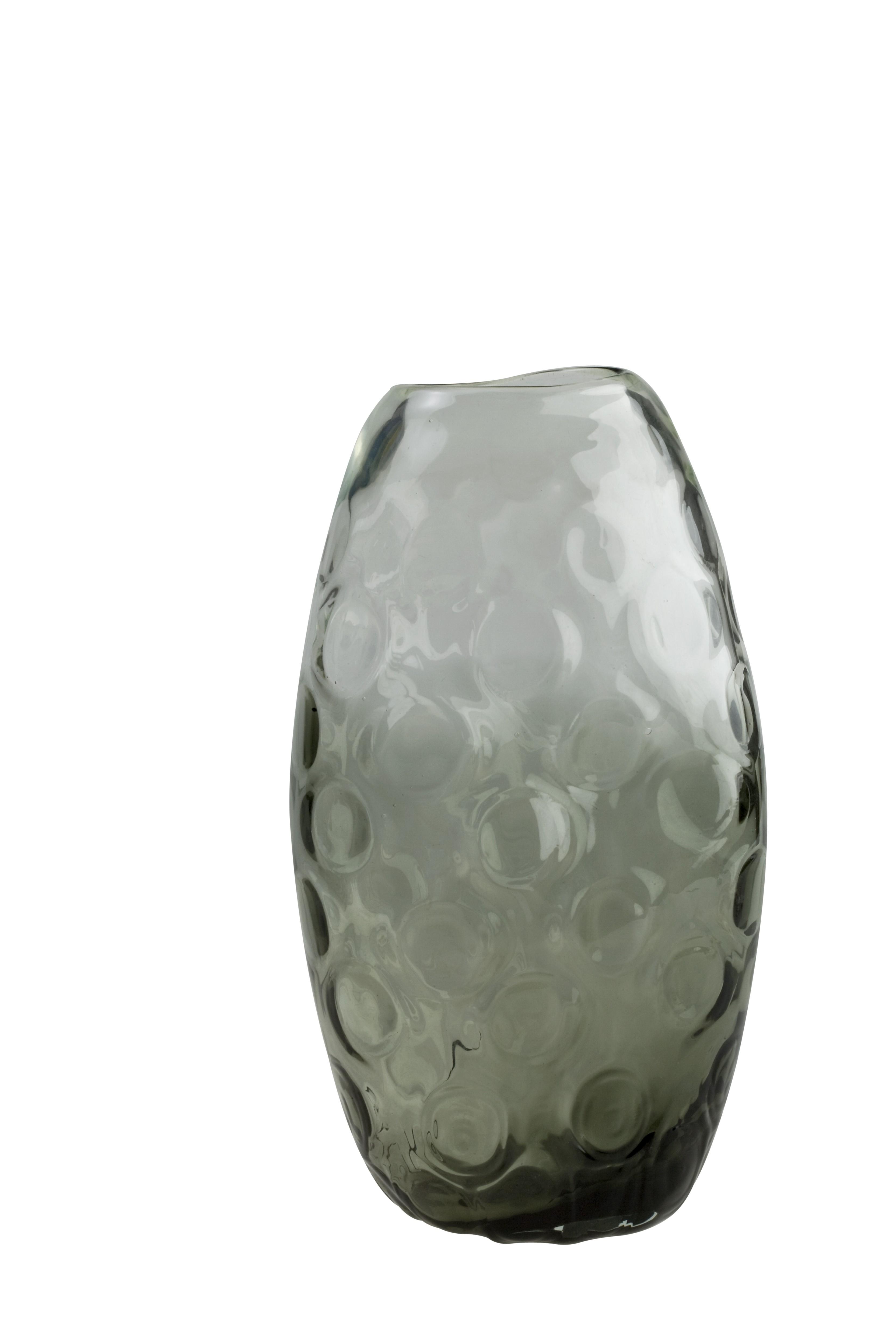 Ανθοδοχείο Smokey Φυσητό 30,5cm home   κρυσταλλα  διακοσμηση   κρύσταλλα