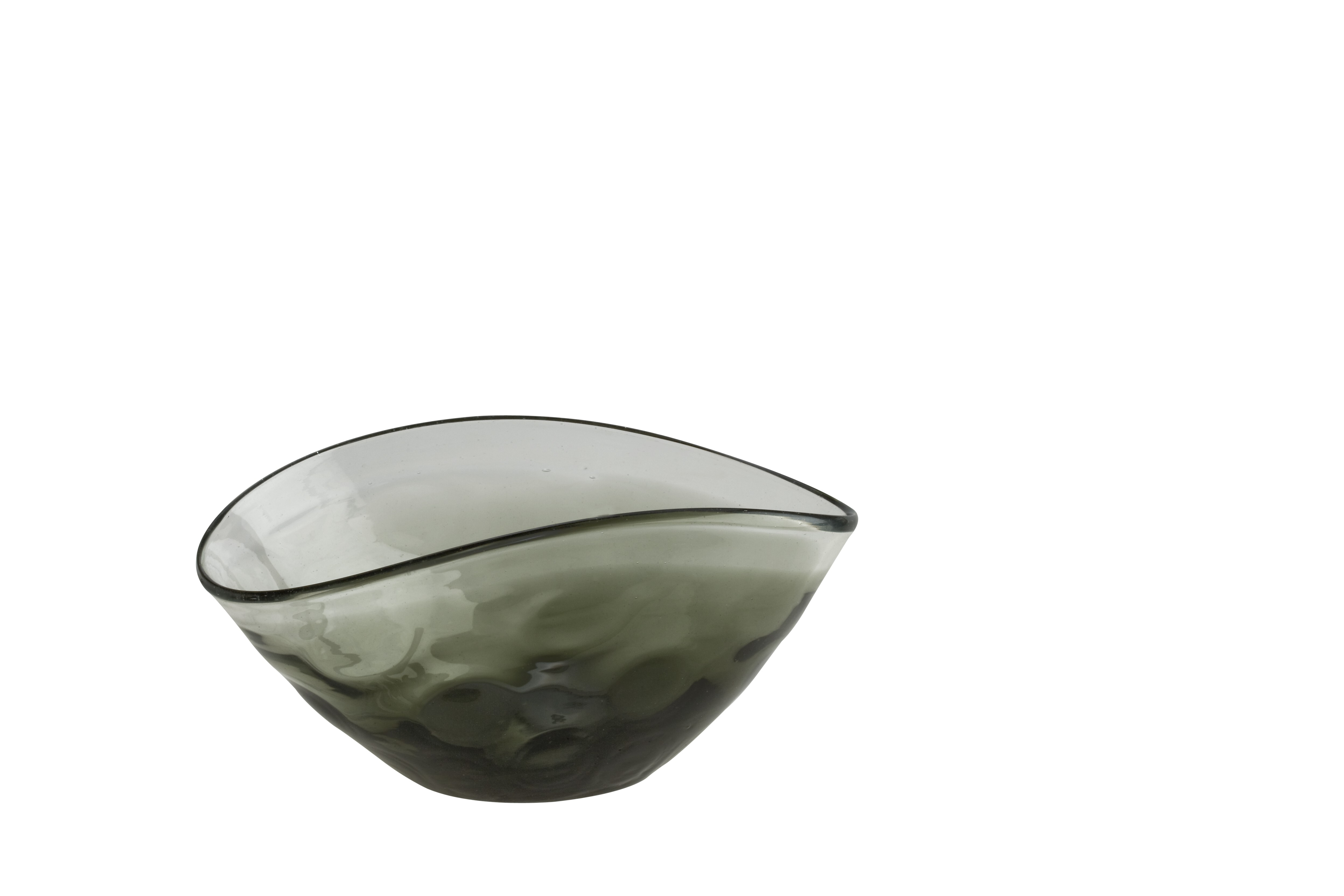 Κούπ Φάκελος Smokey Φυσητό Γυαλί 22.5cm home   κρυσταλλα  διακοσμηση   κρύσταλλα