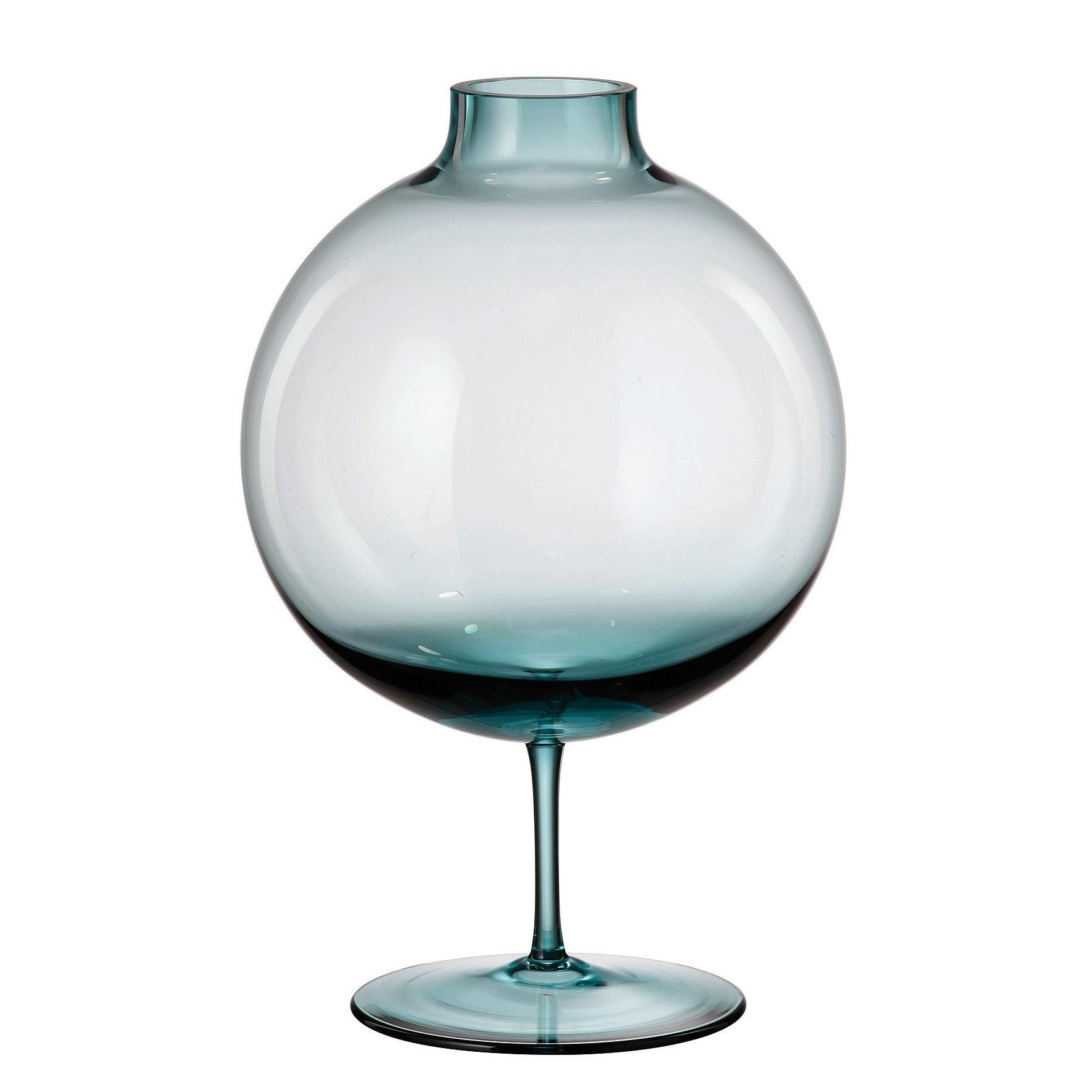 Βαζό Aspire Aqua Bohemia Κρυστάλλινο 23cm home   κρυσταλλα  διακοσμηση   κρύσταλλα