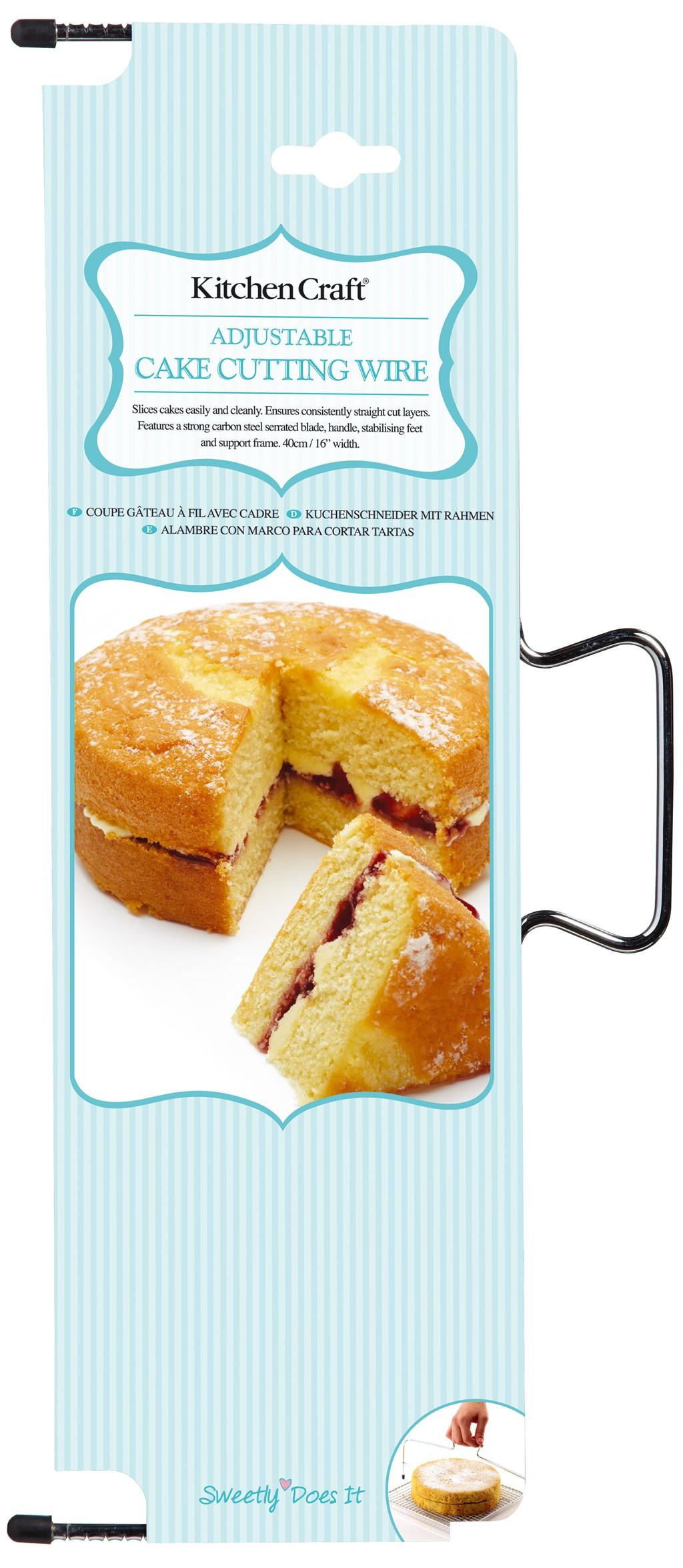 σύρμα κοπής για παντεσπάνι sweetly does it home   ζαχαροπλαστικη   εργαλεία ζαχαροπλαστικής