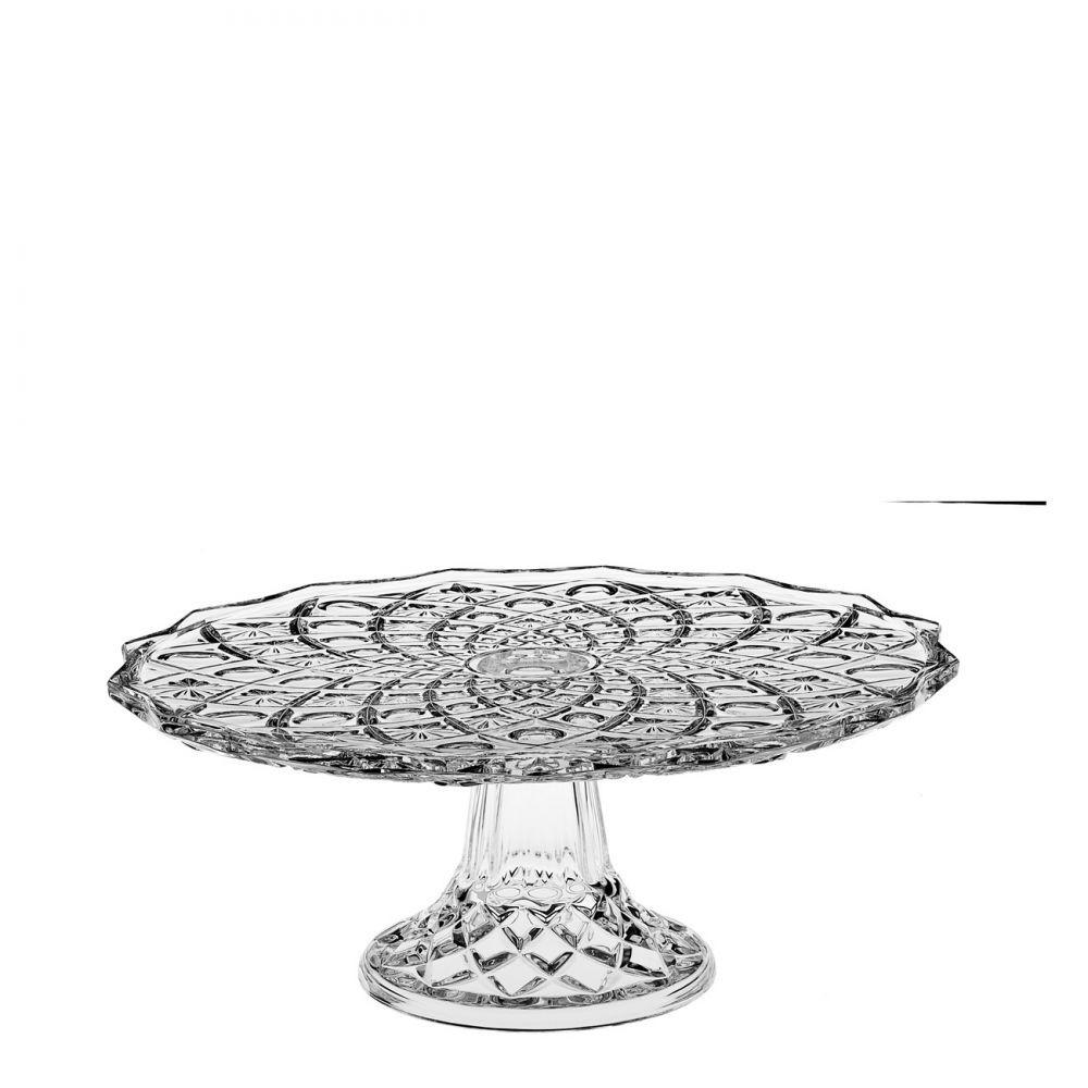 Πιατέλα Με πόδι Κρυστάλλινη 30cm Bohemia home   κρυσταλλα  διακοσμηση   κρύσταλλα