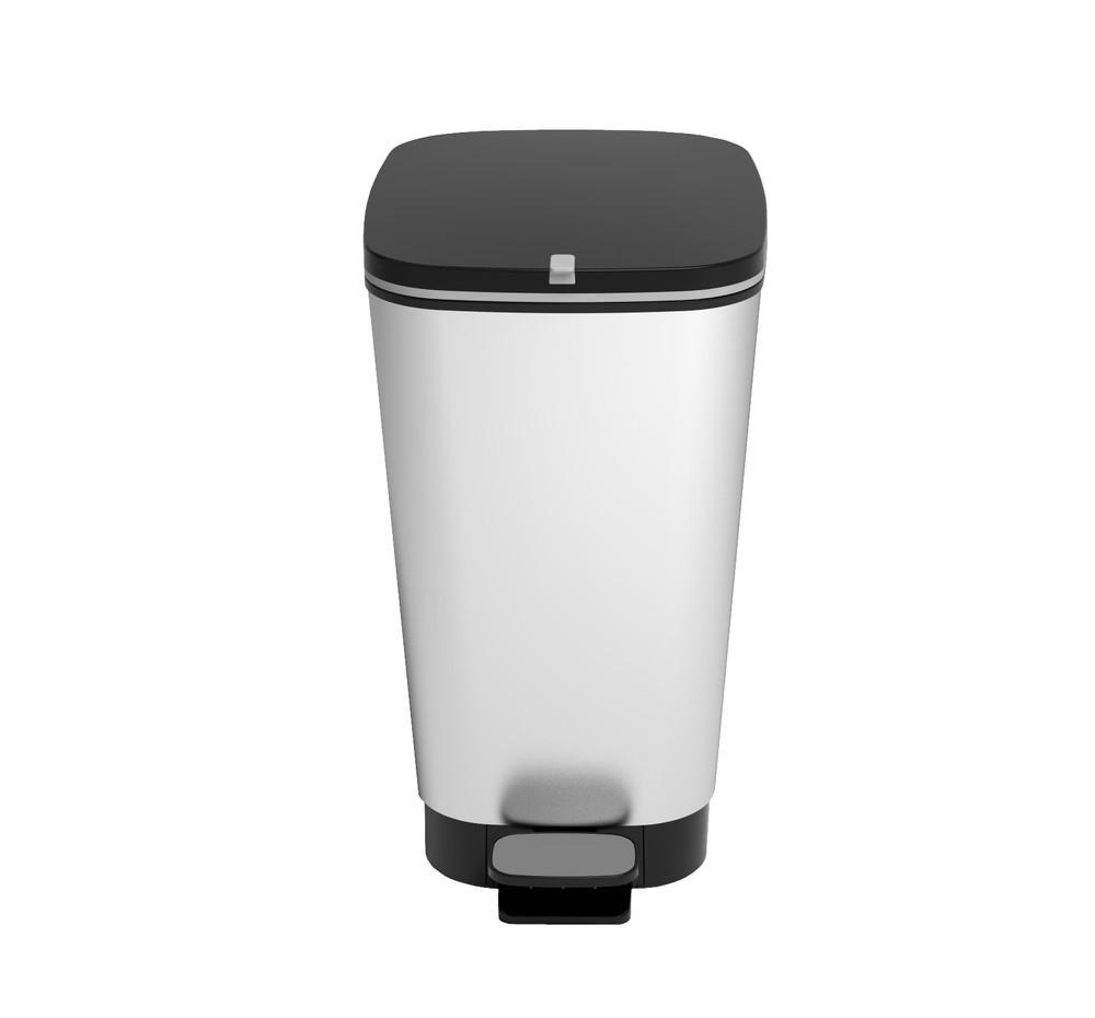 Πεντάλ Πλαστικό Chic Bin Steel 50lt Kis home   αξεσουαρ κουζινας   δοχεία απορριμάτων