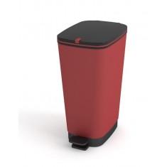 Πεντάλ Πλαστικό Chic Bin Red 35lt Kis