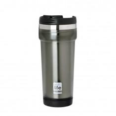 Θερμός Ποτήρι Eco Life Ανοξείδωτο Mug Grey 420ml