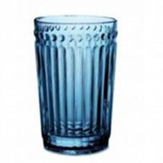 Ποτήρι Νερού - Αναψυκτικού Dots Blue 350ml. Marva Home