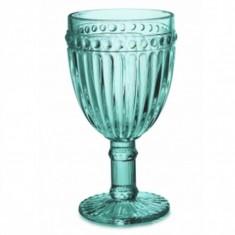 Ποτήρι Κρασιού Dots Aqua 230ml. Marva Home