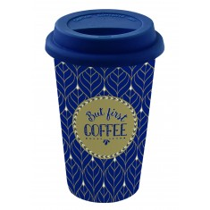 Κούπα Coffee Ισοθερμική Fine Bone China 350ml Marva Home