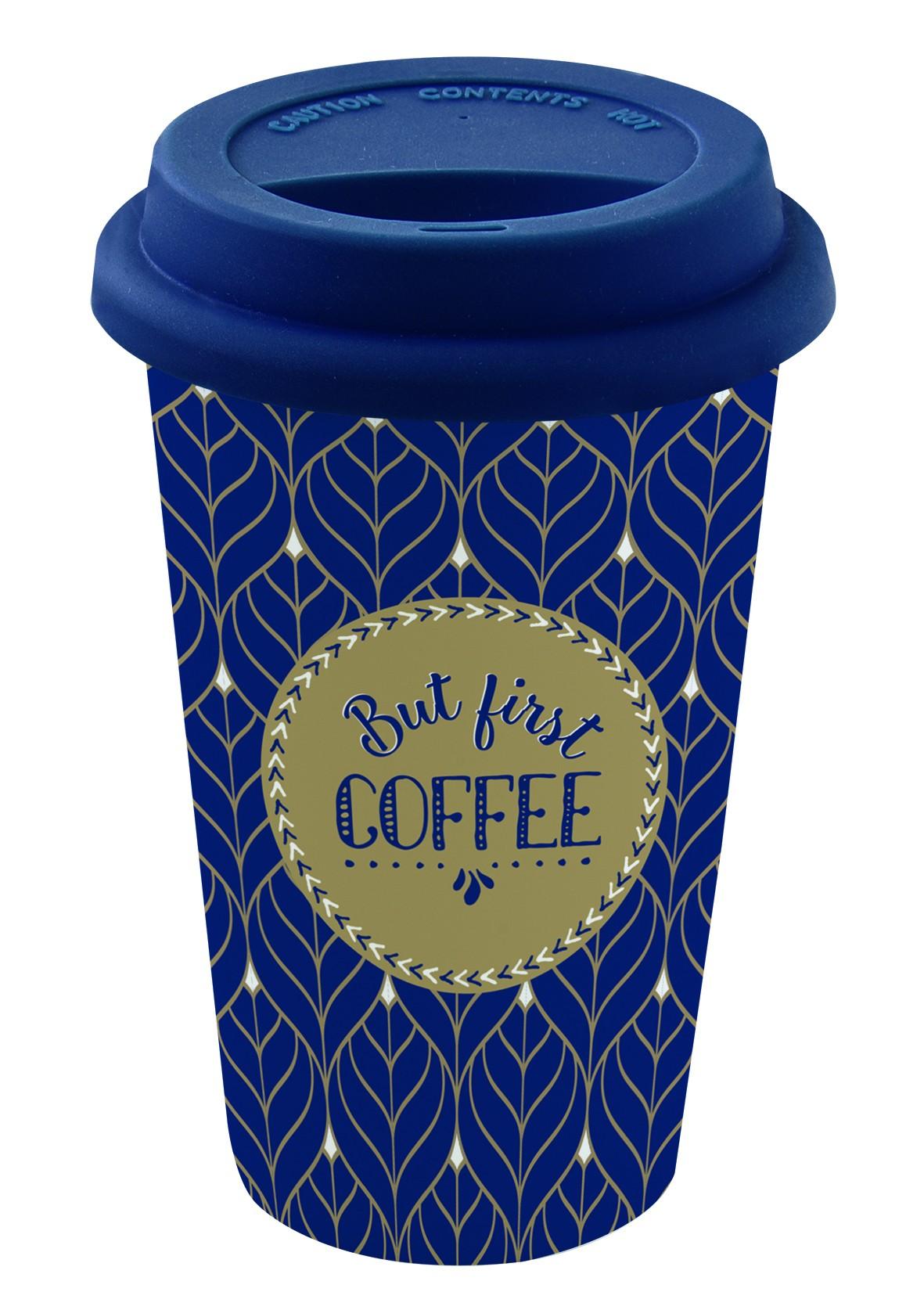 Ποτήρι Coffee Ισοθερμικό Fine Bone China 350ml Marva Home home   ειδη cafe τσαϊ   κούπες   φλυτζάνια