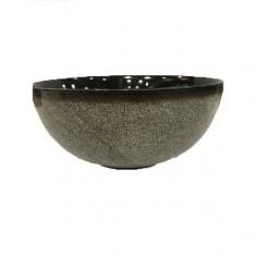 Μπολ Σαλάτας Πορσελάνης Marble Black 23cm