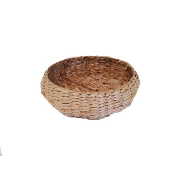 Ψωμίερα - Φρουτιέρα Ψάθινη Στρογγυλή 25cm home   αξεσουαρ κουζινας   ψωμιέρες   φρουτιέρες