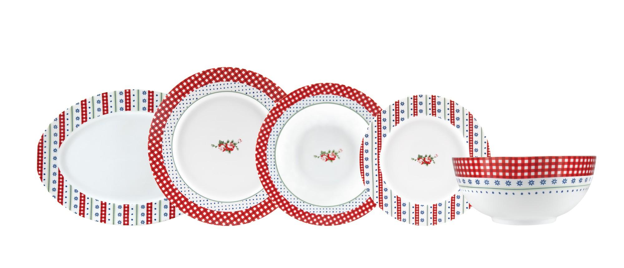 Σερβίτσιο Φαγητού Anthology 20τμχ. Ionia home   ειδη σερβιρισματος   πιάτα   σερβίτσια