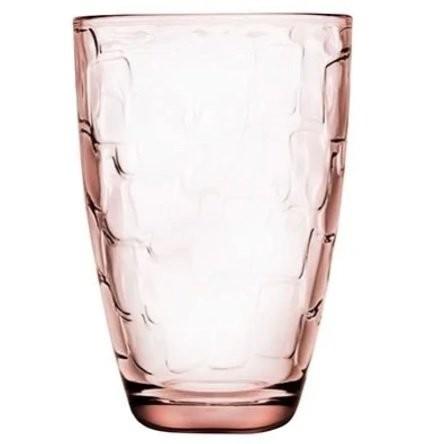 Ποτήρι Νερού - Αναψυκτικού 330ml 6τεμ. Puzzle Pink Pasabahce home   ειδη σερβιρισματος   ποτήρια   νερού   αναψυκτικού