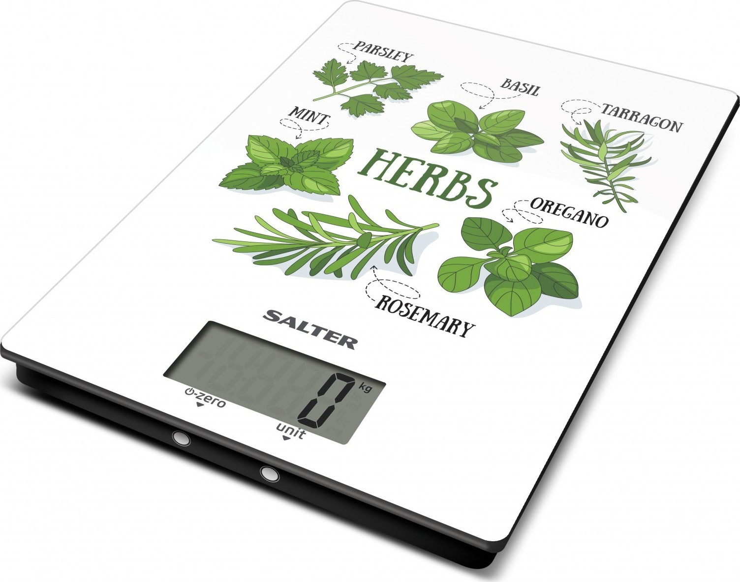 Ζυγαριά Κουζίνας Ψηφιακή 5kg Herbs Salter home   εργαλεια κουζινας   ζυγαριές