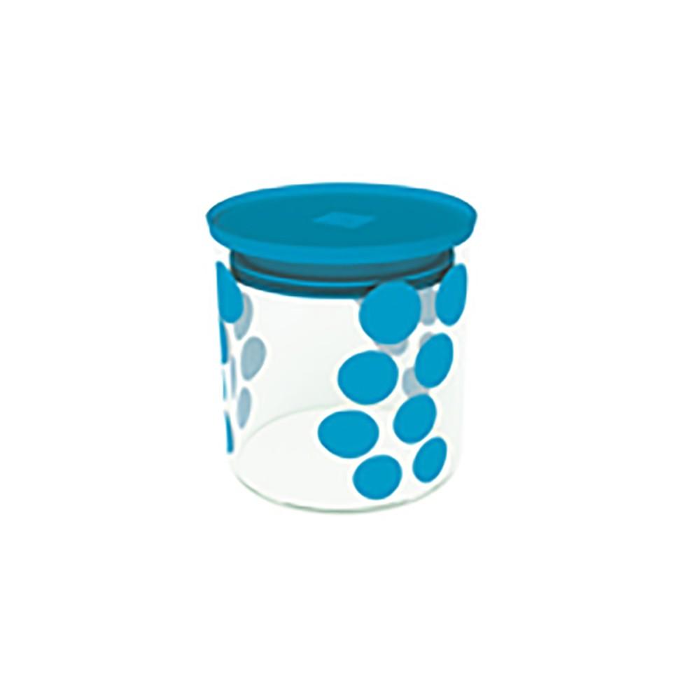 Δοχείο Αποθύκευσης Zak Designs Dot Dot Μπλε 0,65lt home   ειδη cafe τσαϊ   δοχεία καφε   ζάχαρης