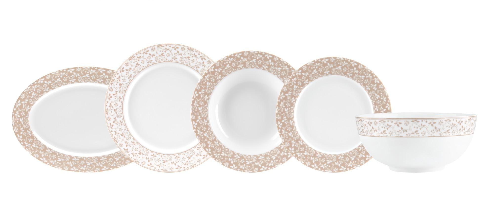 Σερβίτσιο Φαγητού Epoch 20τμχ. Ionia home   ειδη σερβιρισματος   πιάτα   σερβίτσια