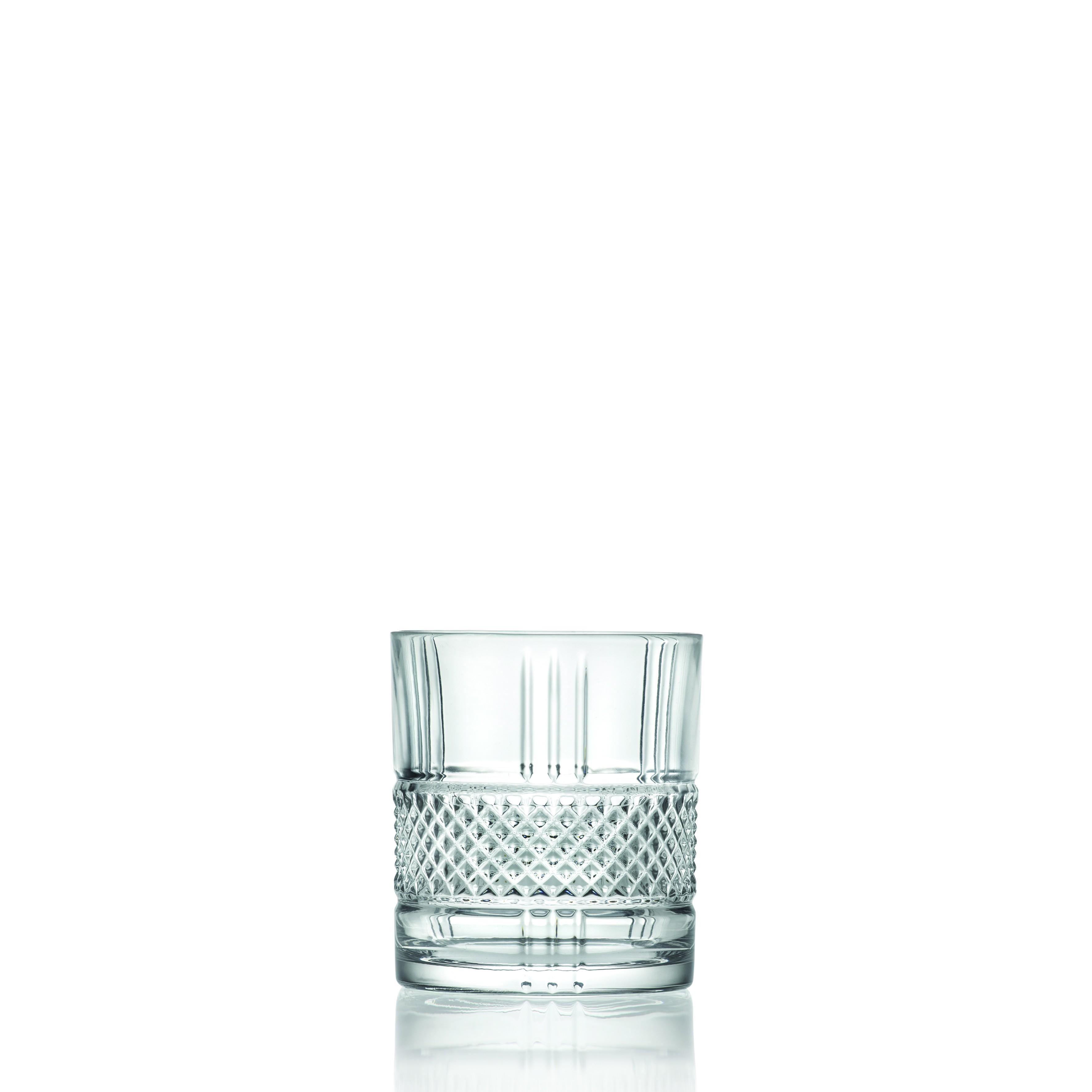 Ποτήρι Ουίσκι Κρυστάλλινο Rcr 337ml Σετ 6 Τμχ Brillante home   ειδη σερβιρισματος   ποτήρια   kρυστάλλινα