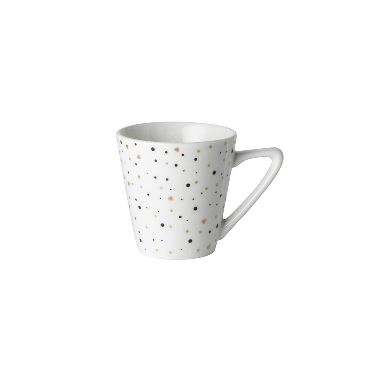 Φλιτζάνι Espresso Dutch Rose White Sparkling home   ειδη cafe τσαϊ   κούπες   φλυτζάνια